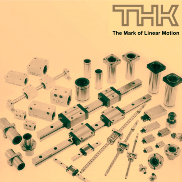 thk lm rail and block